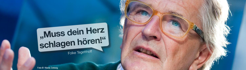 """Folke Tegetthoff - """"Muss dein Herz schlagen hören!"""""""